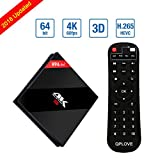 H96 Pro Android 7.1 TV Box 3G RAM 16G ROM Smart TV BOX Amlogic S912 Octa Core 64bit Dual WiFi 2.4G / 5G Bluetooth4.1 Set Top Box
