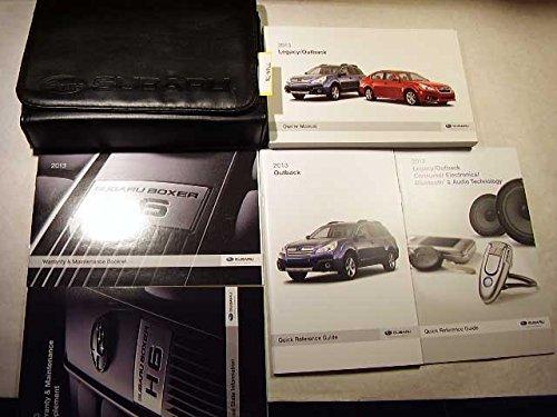 Subaru Outback Owners Manual - 2013 Subaru Legacy / Outback Owners Manual