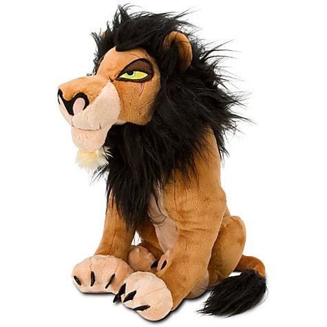 Disney Lion King Exclusive 18 Inch Deluxe Plush Figure Scar]()
