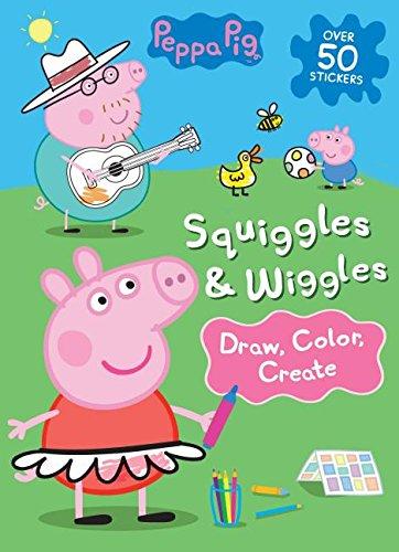 Peppa Pig Squiggles Wiggles Draw Color Create Parragon Books Ltd 9781474875110 Amazon Com Books