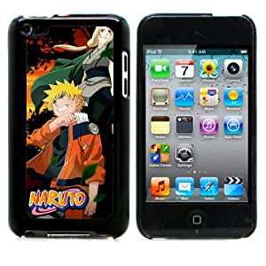 MobileONE COMBO PACK Apple iPod Touch 4th Generation NARUTO Aluminum Back Case with 3x Screen Protectors & M1 Capacitive Stylus Pen