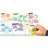 Educational Insights Healthy Foods Stamp Set