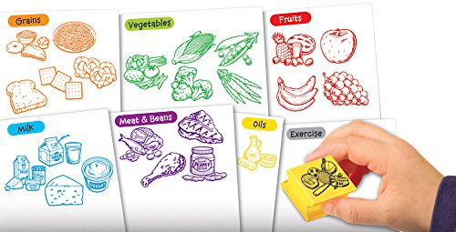Educational Insights Healthy Foods Stamp