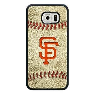 2015 CustomizedGalaxy S6 Case, Onelee(TM) MLB San Francisco Giants Samsung Galaxy S6 Case [Black Soft Rubber/TPU]