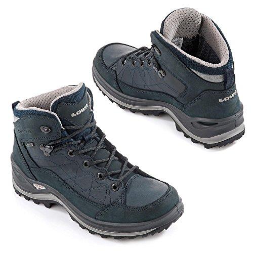 Shoes scuro Women's Blu Hiking Lowa blu qZE1cw