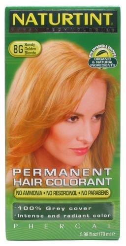 Naturtint Permanent Hair Color- Sandy Golden Blonde 8G, 5.28 fl. oz.