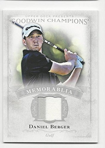 2016 Upper Deck Goodwin Champions Daniel Berger #M-BE NM Near Mint MEM from 2012 Goodwin Champions
