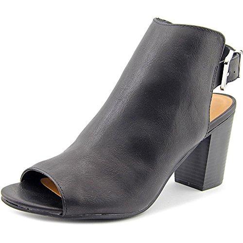 Rampage Women's TWIXIE Peep Toe Slingback Ankle Boot Boot...