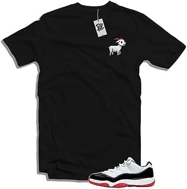 Match The Kicks The Goat Jordan 11 Bred