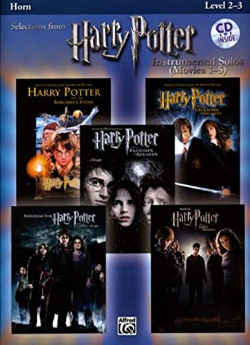 Download Harry Potter Instrumental Solos (Movies 1-5): Horn in F (Book & CD) (Pop Instrumental Solos Series) PDF