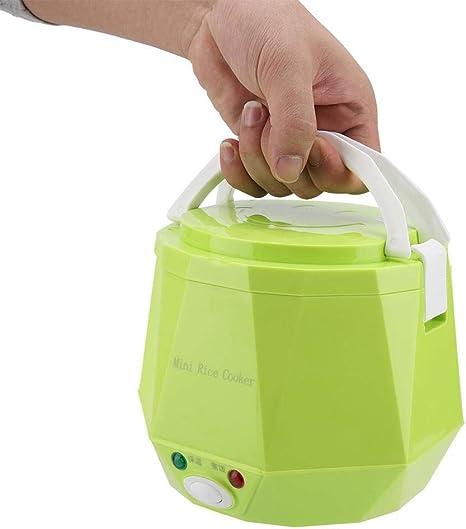 12//24VPortable Rice Cooker Steamer Mini Food Heater Pot Car Truck Outdoor office