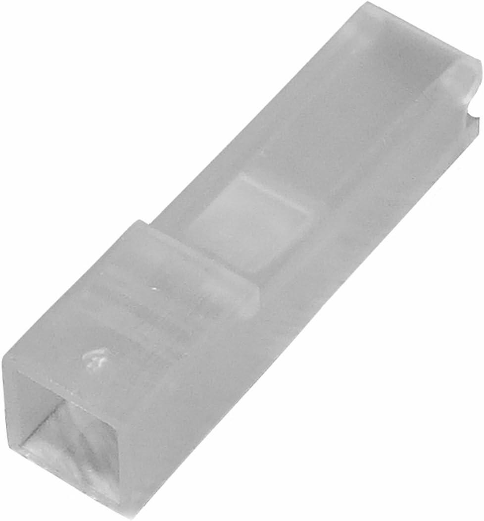 10 x Conectores caja de conexion 1 vias para terminales electricos hembra 2.8mm AERZETIX