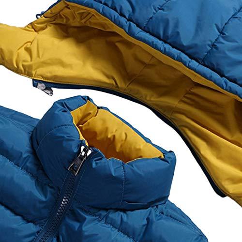 L'inverno Slim Uomini Con Il Mantengono Fit E Cappuccio Il Giacca Nuovo Autunno Cappotto Outerwear Aiweijia Degli Calda qEIwvxF