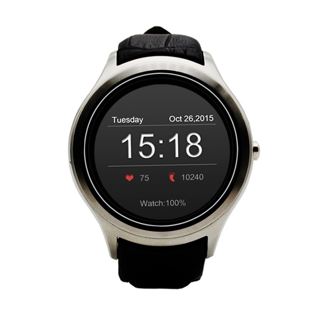 D5 Android 4.4 Bluetooth Smart Watch 4 GB GPS WIFI Heart Rate ...
