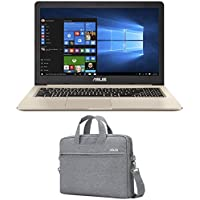 ASUS VivoBook M580VD-EB76 Enthusiast (i7-7700HQ, 16GB RAM, 500GB NVMe SSD + 1TB HDD, NVIDIA GTX 1050 4GB, 15.6 Full HD, Windows 10) Laptop