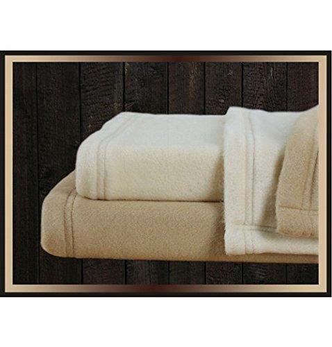 Northeast Hotel Supply Full XL Soft Fleece Blanket Tan
