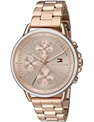 Tommy Hilfiger Womens Sport Quartz Gold Casual Watch(Model: 1781788)