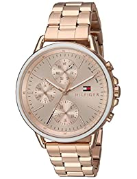 Tommy Hilfiger Women's 'Sport' Quartz Gold Casual Watch(Model: 1781788)