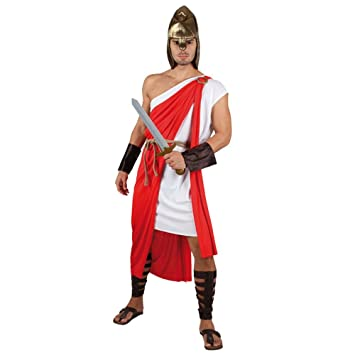 Fyasa 706065-t04 macho disfraz de romano, grande: Amazon.es ...