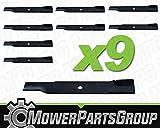 D191 (9) Hi-Lift Blades replaces John Deere TCU15881 M131958 60' 7-Iron Deck
