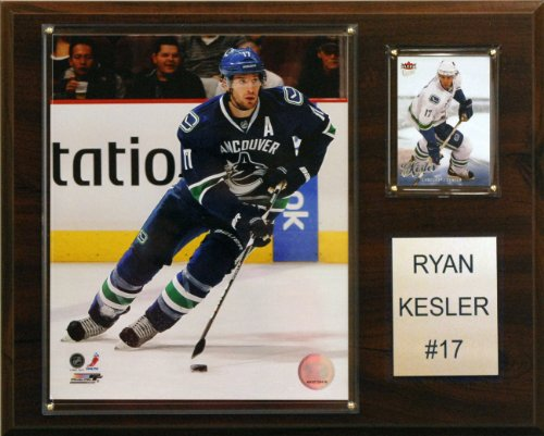 NHL Ryan Kessler Vancouver Canucks Player - Award Plaque Hockey