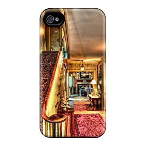 Hard Plastic Iphone 6 Cases Back Covers,hot Lobby Of An English Motel Hdr Cases At Perfect Customized