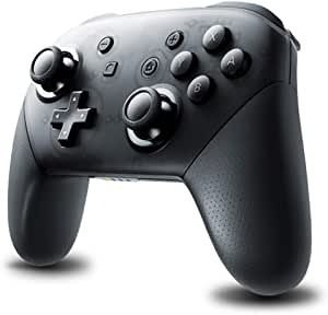 TEGAL Switch Pro Controller, Wireless Bluetooth Controller Compatible for Nintendo Switch Pro, Nintendo Switch Console, Gamepad Joypad with Dual Shock Gyro Axis (Frosted Black)