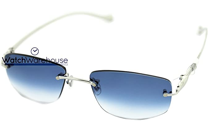 fcfc81a8746 Image Unavailable. Image not available for. Colour  Cartier T8300693  Panthère Grandient Lenses Unisex s Rimless Sunglasses