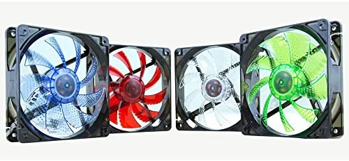Nox Coolfan 120 - NXCFAN120LW - Ventilador para Caja PC, 12 cm ...