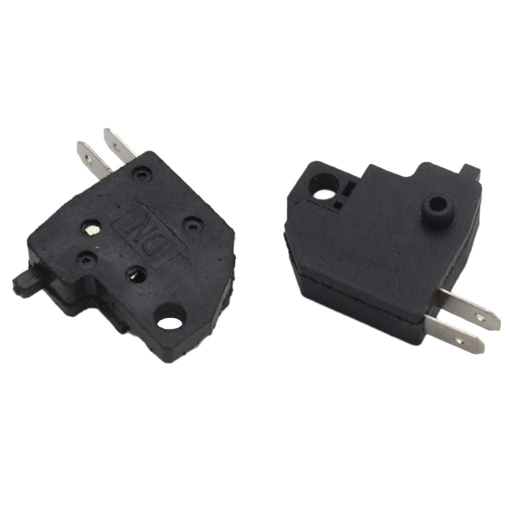 Flameer 2 Pieces Brake Light Switch Chinese Scooter RH & LH for GY6 50cc 150cc