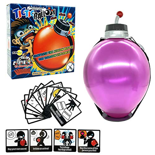 Timing Boom Boom Balloon Balloon timing bomb Family Party Board Game Adults Kids Funny Crazy Toy by swordplus