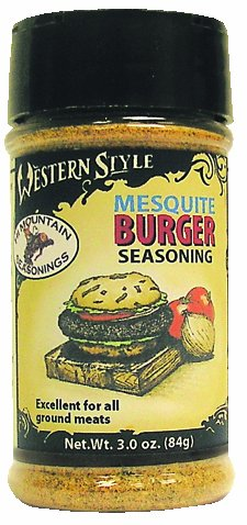 Hi Mountain Western Style Mesquite Burger Seasoning 3 oz. Bottle Mesquite Jerky Seasoning