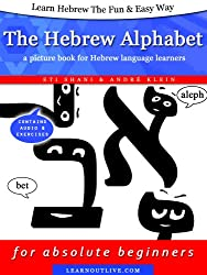 Learn Hebrew The Fun & Easy Way: The Hebrew Alphabet - a picture book for Hebrew language learners (enhanced edition with audio) (English Edition)