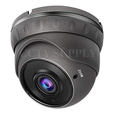 Full HD 1080P Bullet Outdoor Security Camera (Quadbrid 4-in1 HD-CVI/TVI/AHD/Analog), 2MP 1920x1080, 65ft Night Vision, Metal Housing, 3.6mm Lens Wide Viewing Angle, White … from Real HD