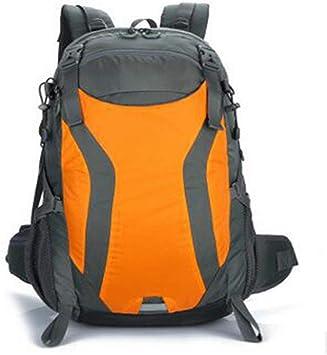 JITALFASH New Men/&Women Outdoor Camping Backpack Big Capacity Bag Mountaineering Backpack Orange