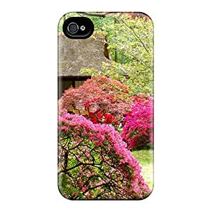 First-class Cases Covers For Iphone 6 Dual Protection Covers Spring Japanese Garden