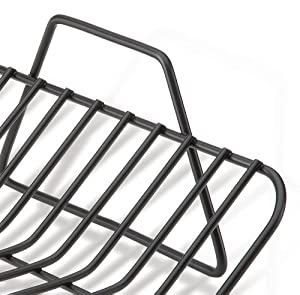 All-Clad 3016 Nonstick Roasting Rack Cookware, 14 by 12.25-Inch, Black