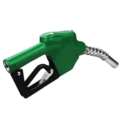 Gazechimp 1 Pieza Automático de Combustible Administración con Pistola Acero Inoxidable - Verde