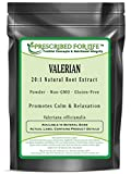 Valerian - 20:1 Natural Root Powder Extract (Valeriana officianalis), 10 kg