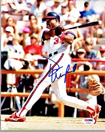Dave Winfield Autographed Photo - 8x10 inch Certificate of Authenticity COA) - Hall of Famer - PSA/DNA - Memorabilia Winfield Dave