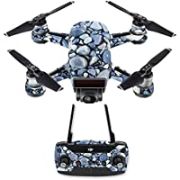 Skin for DJI Spark Mini Drone Combo - Rocks| MightySkins Protective, Durable, and Unique Vinyl Decal wrap cover | Easy To Apply, Remove, and Change Styles | Made in the USA