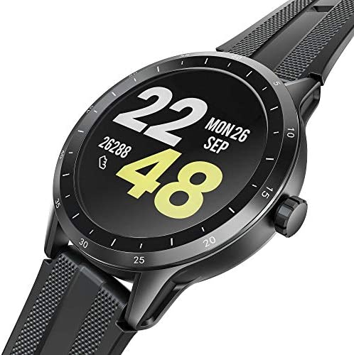 Smart Watch, Virmee VG3 Fitness Tracker with HD TFT Touch Screen, Heart Rate, Sleep, Blood Oxygen, Step, Stress, IP68 Waterproof Pedometer Smartwatch for Men Women, Compatible iPhone Android Samsung
