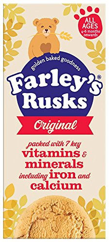 Heinz Original Farley's Rusks from 4-6+ Months, 150 g (Pack of 6) HJHEL 76003670