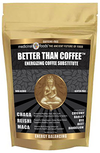 Coffee Break – Energizing Coffee Substitute. Non-Acidic, Caffeine-Free, Gluten-Free