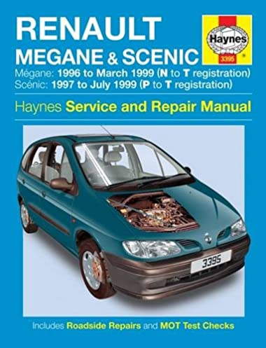 renault megane and scenic petrol and diesel service and repair rh amazon com Renault Scenic Blue Renault Scenic Luggage Capacity