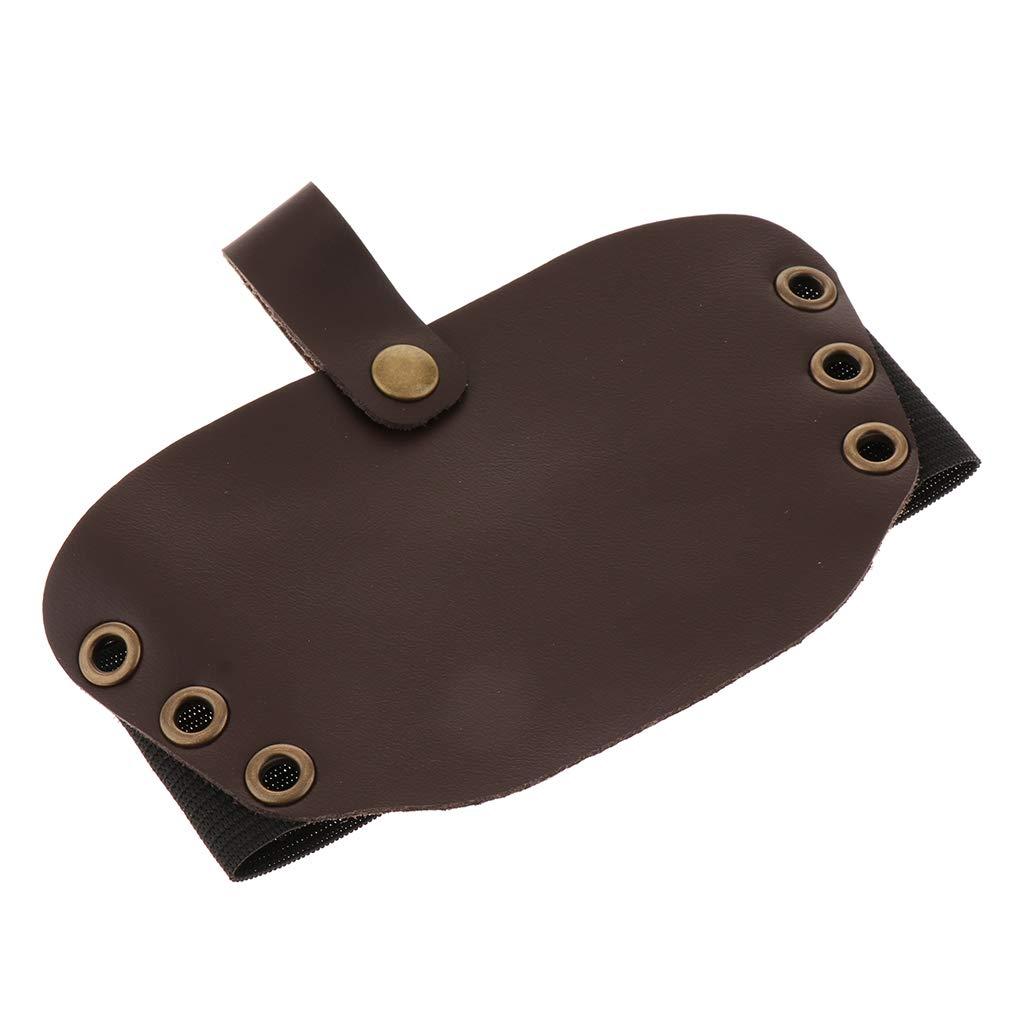 B Blesiya Prot/ège-Chaussures en Cuir Artificiel pour Bottes De Protection P/édales De Moto
