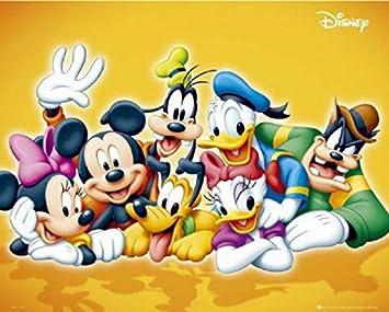 Amazonde Set Walt Disney Figuren Mini Poster 20 X 4064 Cm Und