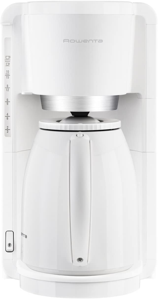 Rowenta Thermo Libera installazione Macchina da caff/è con filtro Bianco 1,25 L 12 tazze Semi-automatica