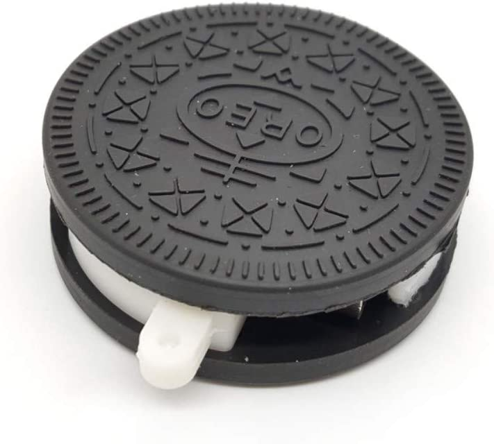 TXX Donut creativo Chocolate Meng U Disk Girl Cute Usb Simulación Biscuit Toffee 16G Negro