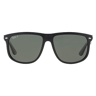 Ray Ban Für Mann Rb4147 Black   Green (Polarized) Kunststoffgestell  Sonnenbrillen, 56mm 8ee77d0096bd